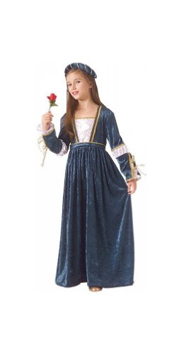 Juliet Halloween Costumes (Juliet Child Costume deluxe - Large (12-14))