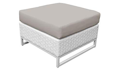 TK Classics TKC047b-O-BEIGE Miami Seating Patio Furniture, Beige (Furniture Clearance Patio Miami)