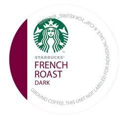 Starbucks French Roast K-Cups for Keurig Brewers, 96 Count - Packaging May Vary