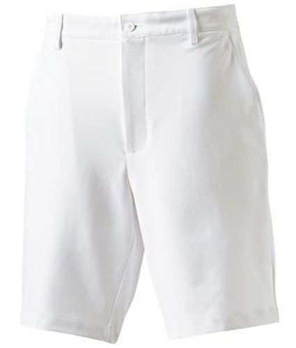 (FootJoy NEW PERFORMANCE FLAT FRONT GOLF SHORTS WHITE 34)
