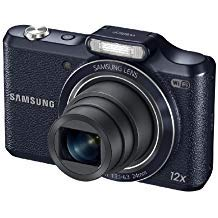 Samsung WB50F 16.2MP Smart WiFi & NFC Digital Camera with 12x Optical Zoom and 3.0' LCD (Black)