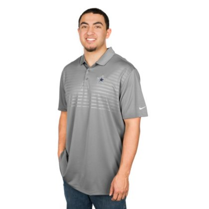 ad407982 Amazon.com : Dallas Cowboys Nike Golf Embossed Victory 2.0 Polo : Sports &  Outdoors
