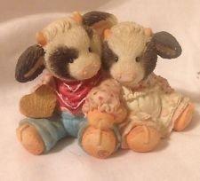 Mary's Moo Moos Cow Figurine