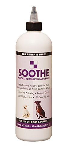 Soothe Ear Cleaner for Dogs 16 oz.