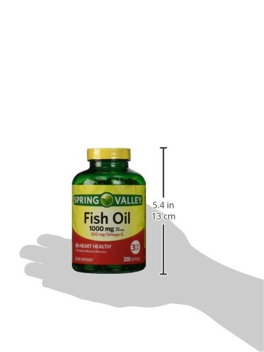 Spring valley fish oil omega 3 1000 mg 400 softgels for Pro omega fish oil