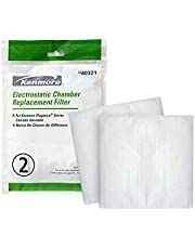Kenmore 40321 Electrostac Chamber Vacuum Filter. Genuine Kenmore Filter for Canister Vacuum Cleaners. Package of 2 Filters