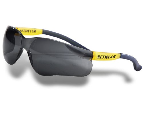 SFT-00-SMO Safety Glasses (Smoked)