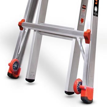 Little Giant Ladder 22 Ft Aluminum 300 Lb Telescoping Type