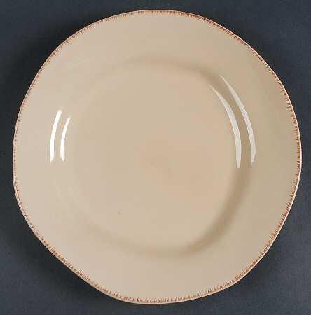 Pier 1 Imports Elemental Sand Color Earthenware Dinner Plate