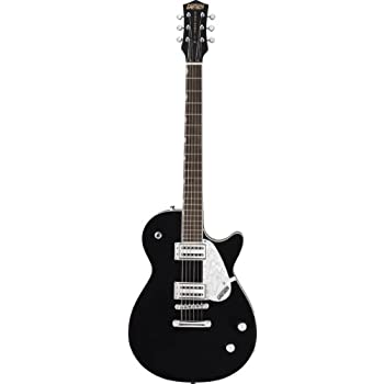 gretsch guitars g6128t duo jet with bigsby electric guitar black musical instruments. Black Bedroom Furniture Sets. Home Design Ideas