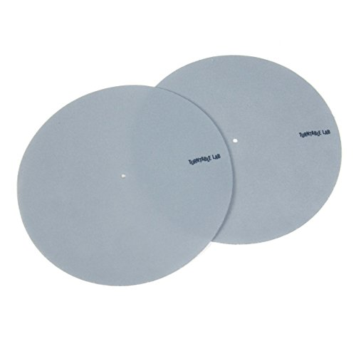 Logo Dj Slipmat - Turntable Lab: Supersoft Slipmats - Grey (Pair)