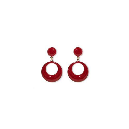 (Ole Ole Flamenco earrings girl red spanish earrings original from)