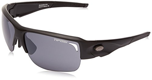 Tifosi Elder 1170100101 Wrap Sunglasses, Matte Black, 61 mm