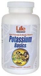 Life Enhancement Potassium Basics 240 Caps by Life Enhancement
