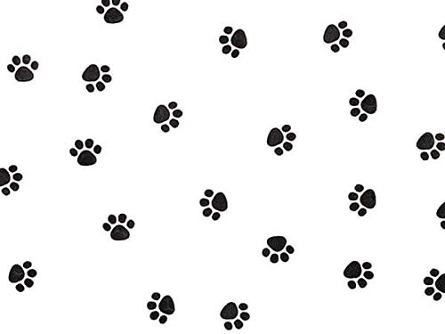 All Occasion Cello Gift Bags - 100 Count - X-Large - Paw Print