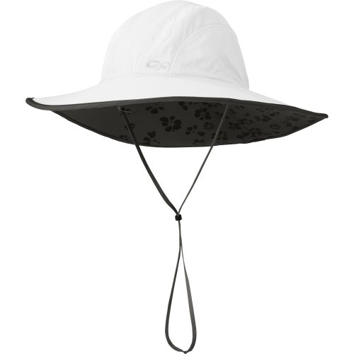 Outdoor Research Women's Oasis Sun Sombrero, White, Small