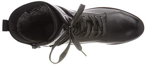 Bottes Rangers Noir Nappa black Femme Caprice 22 25203 gqCwxR