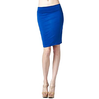 82 Days Women's Casual to Office Wear Above Knee Pencil Skirt - Solid & Prints at Women's Clothing store