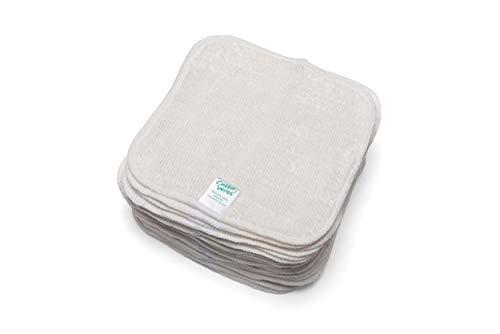🥇 Cheeky Wipes – Toallitas reutilizables de tela de bambú para bebé
