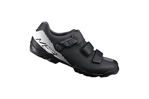 Shimano SH-ME3 Mountain Bike Shoe - Wide - Men's Black/White, 43.0 by Shimano