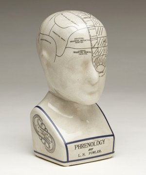 Scientific Porcelain Phrenology/Psychology Head Model ()
