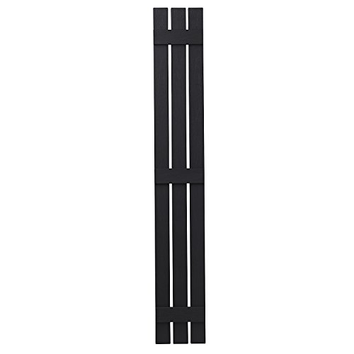 PlyGem Shutters and Accents VIN301271 33 3 Open Board and Batten Shutter, Black by PlyGem Shutters and Accents (Image #1)