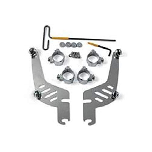 Memphis Shades MEM9974 Quick-Change Mount Kit for Fats/Slim for Kawasaki Vulcan, and Suzuki VZ1600