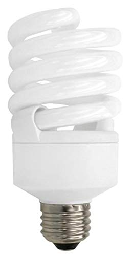 (TCP CFL Spring Lamp, 100W Equivalent, Soft White (2700K), TruDim Dimmable Spiral Light Bulb)