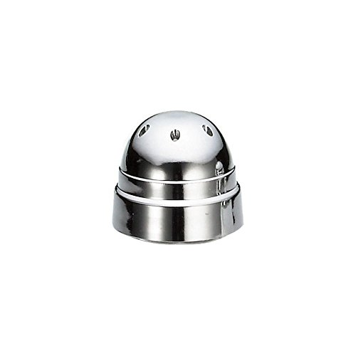 - Tablecraft Replacement Chrome Plated Plastic Top for 80S&P Shakers