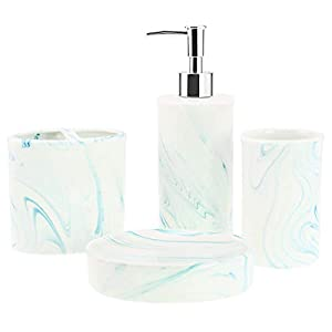 31YYBiqKyHL._SS300_ 70+ Beach Bathroom Accessory Sets and Coastal Bathroom Accessories 2020