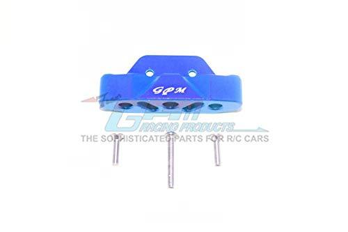 GPM Traxxas Rustler 4X4 VXL (67076-4) Upgrade Parts Aluminum Rear Lower Suspension Mount - 1Pc Set Blue ()
