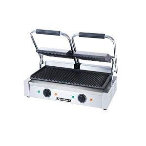 Panini Sandwich Press Grill | Durable Stainless Steel Construction with Adjustable Temperature Control ALDKitchen NP-589 (9 x 14) (Size 9