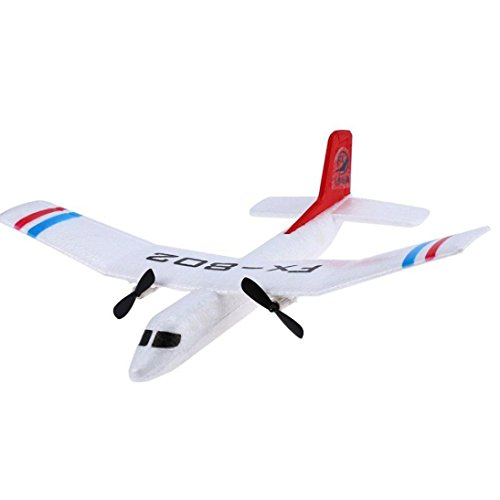 Dreamyth Flybear FX – 802 2.4GHz 2 Channel EPP Fixed-wing Aircraft Front-pull Dual Propel,With Remote control,Landing gear