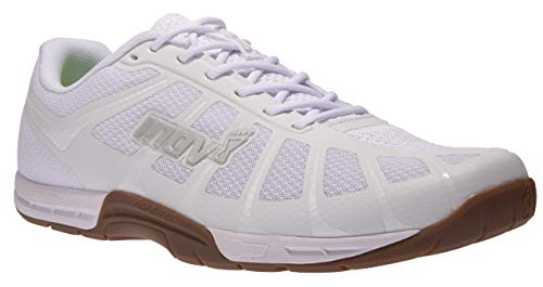 - Inov-8 Mens F-Lite 235 V3 - Ultimate Supernatural Cross Training Shoes - Lightweight and Flexible - Functional Performance Trainers for Gym and Weight Lifting - White/Gum 12 M US