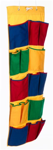 Household Essentials 01889 Kids 15-Pocket Over Door Organizer