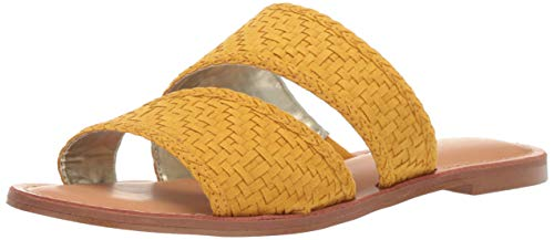 Carlos by Carlos Santana Women's Holly Slide Sandal, Sunflower, 6 Medium US