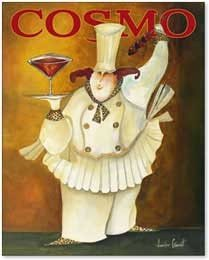 Art Poster Print - A Cosmo For You - Artist: Jennifer Garant- Poster Size: 16 X 20