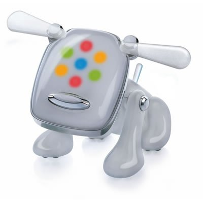 Amazon Com Hasbro I Dog Robotic Music Loving Canine White Toys