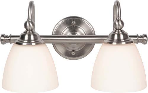 Lighting Vanity Craftmade - Craftmade 39902-BNK Two Light Vanity