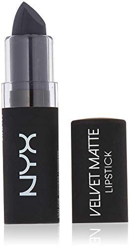 NYX Professional Makeup Velvet Matte Lipstick, Midnight Muse, 0.14 Ounce