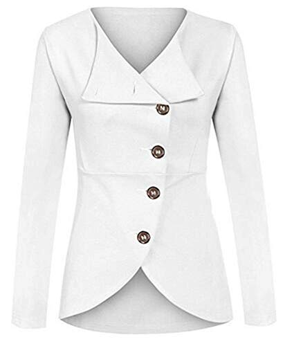 Femme Unicolore Printemps Jacket Automne Manteau dHUTqd