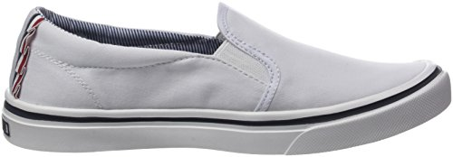white Blanc 100 Sneakers Light Textile Basses Tommy On Weight Hilfiger Slip Femme nA6wzFqvx7