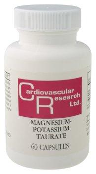 Cardiovascular Research - Magnésium-Potassium taurate, 60 capsules
