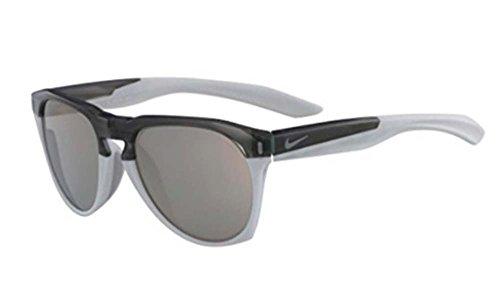 Nike EV1020-010 Navigator M Frame Grey with Ivory Mirror Lens Sunglasses, Wolf Grey/Pure Platinum - Frame Platinum Mirror Lens
