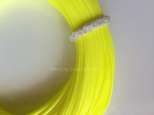 BestCity Fly Fishing Premier Quality WF7/8 Trout Floating Line Fluorescent Yellow UK