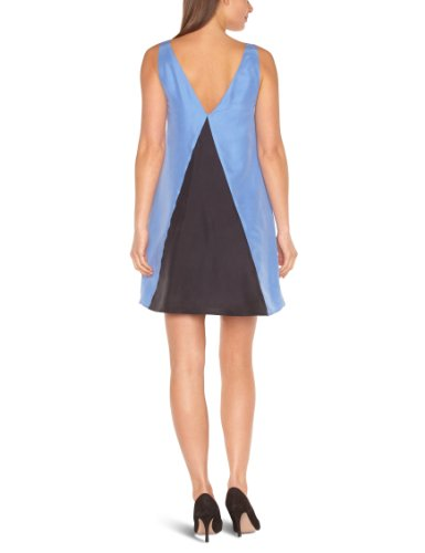Blue Kleid KEZHIA Damen DRESS American Blau Trapèze Cream Retro Sgt0qWWEAw
