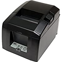 Star Micronics 39481270 Model TSP654IIBI-24 GRY Thermal Printer, Cutter, Bluetooth, Android/Windows, IOS, External Power Supply, Auto Connect On, Gray