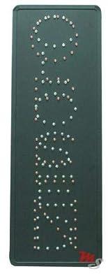 Amazon.com: Cartel de acero con diseño de Monster con LED ...
