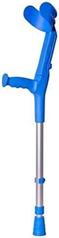 Bastón inglés infantil, 1 unidad, birregulable aluminio, color azul, BCR-N, FORTA