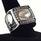 Best Fantasy Football Leagues - Decade Awards Fantasy Football Champion Silver Ring/Heavy FFL Review